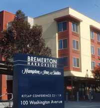 Hampton Inn Suites Bremerton Washington Hotels Wa